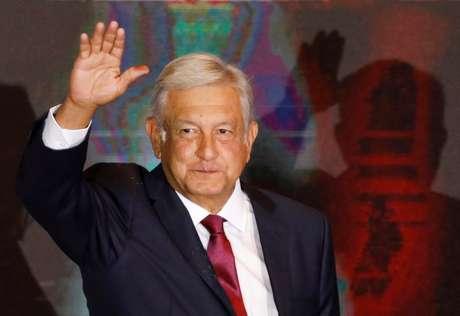 Presidente eleito do México, Andrés Manuel López Obrador 01/07/2018  REUTERS/Carlos Jasso