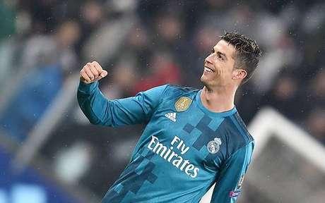 Cristiano Ronaldo em ação contra a Juventus, pela Liga dos Campeões