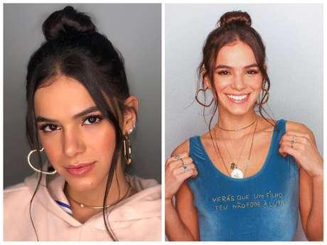 Bruna Marquezine (Fotos: @brumarquezine/@lucasvieirabr/Instagram/Reprodução)