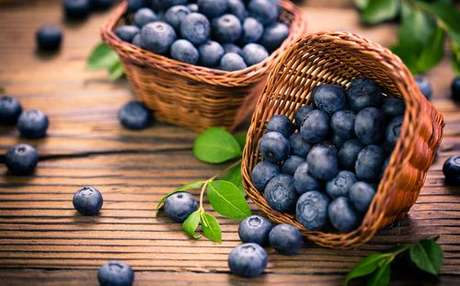 Mirtilos ou blueberries