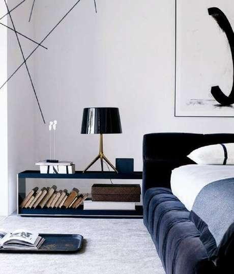 8. Os nichos para quarto também podem ser usados como criado-mudo para otimizar o seu espaço