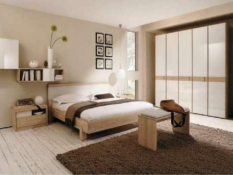49. Modelo simples de nichos para quarto