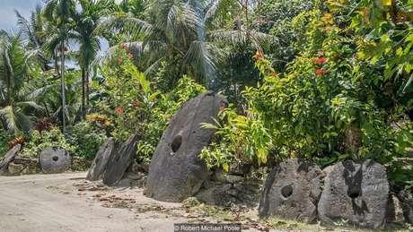 O valor de cada pedra é determinado não só pelo tamanho, mas pela história que carrega | Foto: Robert Michael Poole