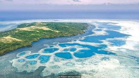 'Moedas' foram extraídas das pedreiras da ilha vizinha de Palau, localizada a 400 km | Foto: Robert Michael Poole