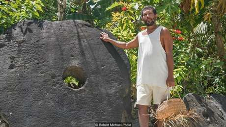 Algumas pedras chegam a medir mais de 3 metros de diâmetro | Foto: Robert Michael Poole