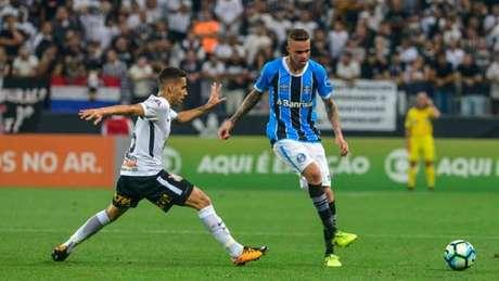 Corinthians e Grêmio se enfrentam na Arena, neste domingo (Foto: GUGA GERCHMANN/RAW IMAGE)