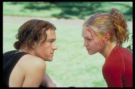 Heath Ledger e Julia Stiles em '10 Coisas Que Eu Odeio Em Você'  (1999)