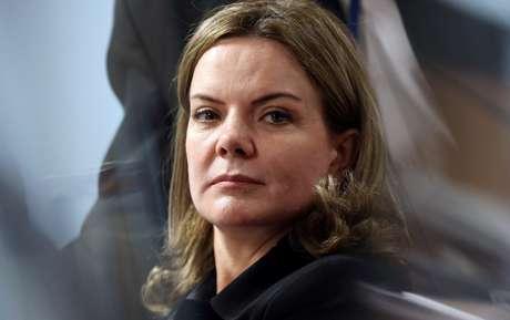 Gleisi Hoffmann disse que o Partido dos Trabalhadores inscreverá Lula como candidato da sigla para o Planalto