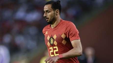 Chadli acredita que Bélgica pode vencer a França e chegar à final da Copa do Mundo após bater o Brasil (Foto: AFP)