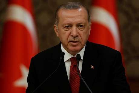 Presidente turco, Tayyp Erdogan 09/07/2018 REUTERS/Umit Bektas