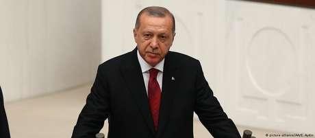 Erdogan faz juramento de posse no Parlamento turco em Ancara