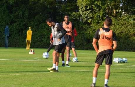 São Paulo teve mais um dia de preparação focado no retorno da temporada do futebol brasileiro (Érico Leonan/saopaulofc.net)