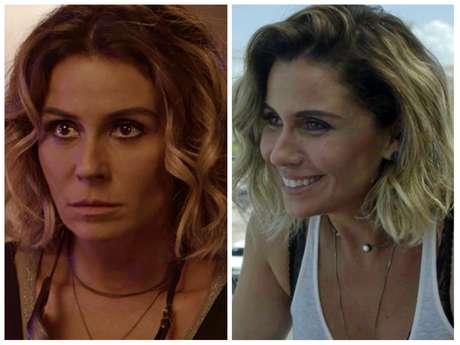 """Chokers da Giovanna Antonelli em """"Segundo Sol"""" (Fotos: TV Globo/Reprodução)"""