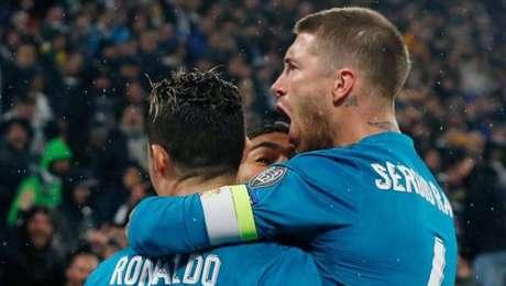 Cristiano Ronaldo e Sergio Ramos ganharam diverosos títulos com o Real Madrid em nove anos de parceria