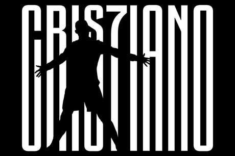 Montagem feita pela Juventus para anunciar a contratação de Cristiano Ronaldo.