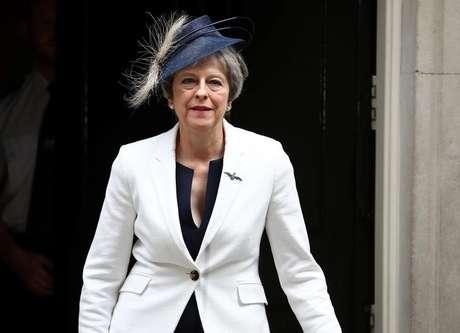 Primeira-ministra britânica, Theresa May 10/07/2018 REUTERS / Hannah McKay