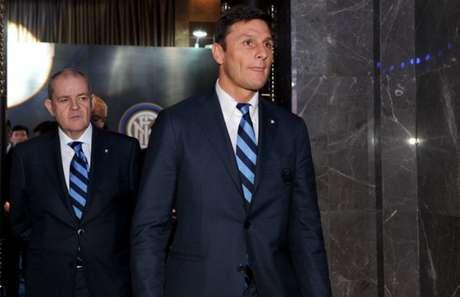 Zanetti elogiou os dois atacantes da Inter de Milão (Foto: AFP)