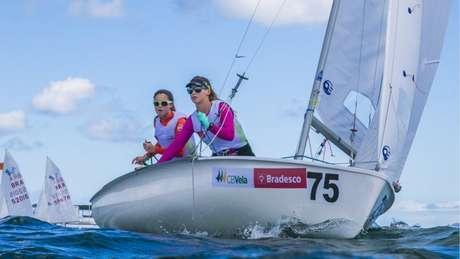 Marina da Fonte e Marina Arndt são atrações da equipe brasileira de vela (Foto: Peu Fernandes/ CBVela)