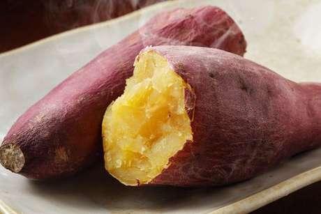 Batata-doce cozida