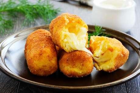 Croquete de queijo