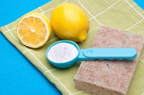 8- Produtos de limpeza caseiro utilizam muito bicarbonato de sódio
