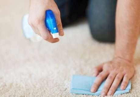 15 -Produtos de limpeza para carpete com vinagre.
