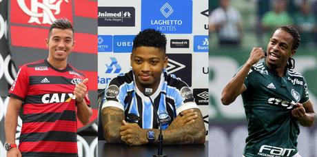 Alguns jogadores chegam ao Brasil; outros dão adeus