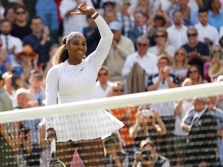 Serena garantiu uma vaga nas semifinais do torneio britânico