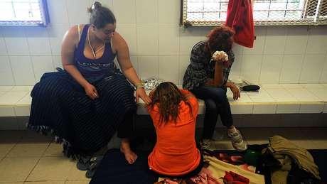 Muitos imigrantes sofrem sequelas emocionais por causa do período de detenção nos centros