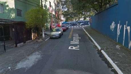 O suspeito detido por policiais militares na rua Manguaba, Cidade Ademar, zona sul da capital, e encaminhado à delegacia
