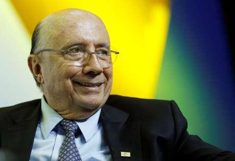 Pré-candidato do MDB ao Planalto, Henrique Meirelles, participa de evento com presidenciáveis em Brasília 06/06/2018 REUTERS/Adriano Machado