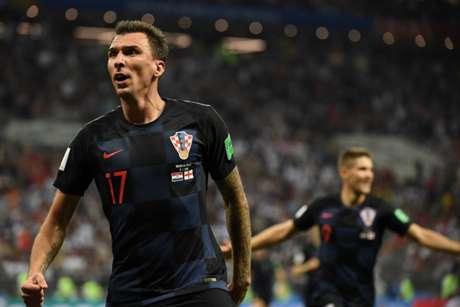 Mandzukic marcou o gol da classificação croata para a decisão (Foto: AFP)
