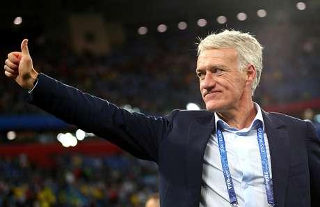 Deschamps ganhou a Copa de 1998 e a Eurocopa de 2000 como capitão da seleção francesa