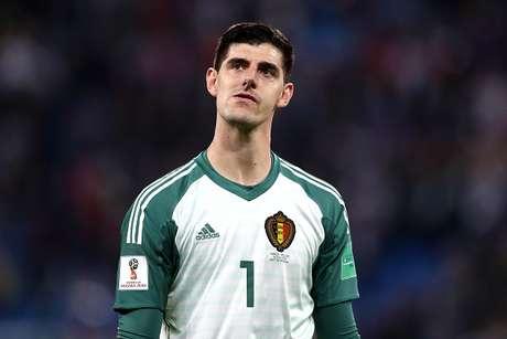 Courtois criticou estilo de jogo da França na semifinal contra a Bélgica
