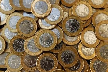 Imagem ilustrativa de moedas de real 15/10/2010 REUTERS