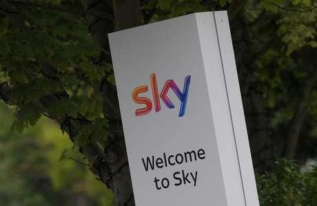 Logo da Sky nos estúdios da empresa em Londres, Reino Unido 29/06/2017 REUTERS/Toby Melville