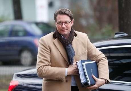 Andreas Scheuer, ministro dos Transportes alemão, em Berlim, Alemanha 07/01/2018 REUTERS/Hannibal Hanschke