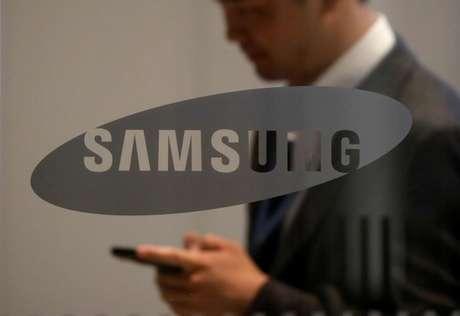 Logo do Samsung Group em prédio da empresa em Seul, Coreia do Sul 11/10/2017 REUTERS/Kim Hong-Ji