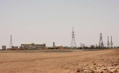 Campo petrolífero El Feel, perto de Murzuq, na Líbia 06/07/2017 REUTERS/Aidan Lewis