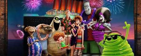 Hotel Transilvânia 3: Férias Monstruosas é a maior estreia desta quinta-feira e será exibido em 15 mil salas de cinema no Brasil