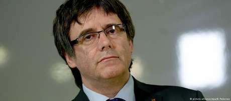 Carles Puigdemont foi detido em 25 de março no norte da Alemanha devido a uma ordem de prisão europeia