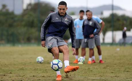 Gilberto vinha sendo titular desde o começo da temporada (LUCAS MERÇON / FLUMINENSE F.C.)