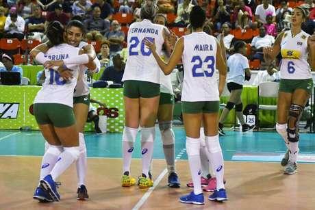 Seleção Brasileira feminina quer chegar à final da Copa Pan-Americana (FOTO: Divulgação/Norceca)