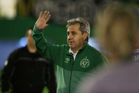 Gilson Kleina quer fazer algumas mudanças antes da Chape voltar ao Brasileirão (Foto: Sirli Freitas/Chapecoense)