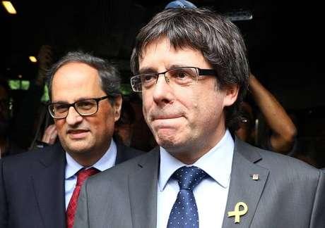 O líder separatista catação Carles Puigdemont, que será extraditado
