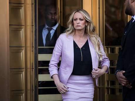Stephanie Clifford atualmente trava uma batalha judicial contra o presidente dos EUA, Donaldo Trump