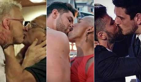Bial e Galvão, Jonathan e Nego, Gagliasso e João Vicente: heterossexuais sem medo de um simples selinho