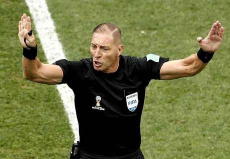 Néstor Pitana já atuou em quatro jogos no Mundial da Rússia