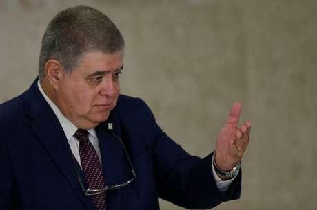 Ministro da Secretaria de Governo, Carlos Marun, durante entrevista coletiva em Brasília 13/08/2018 REUTERS/Ueslei Marcelino