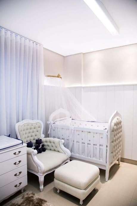 2. Nesse projeto de Maria Laura Coelho vemos os três móveis essenciais do quarto de bebê